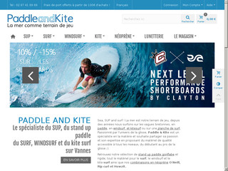 Détails : Paddle and Kite